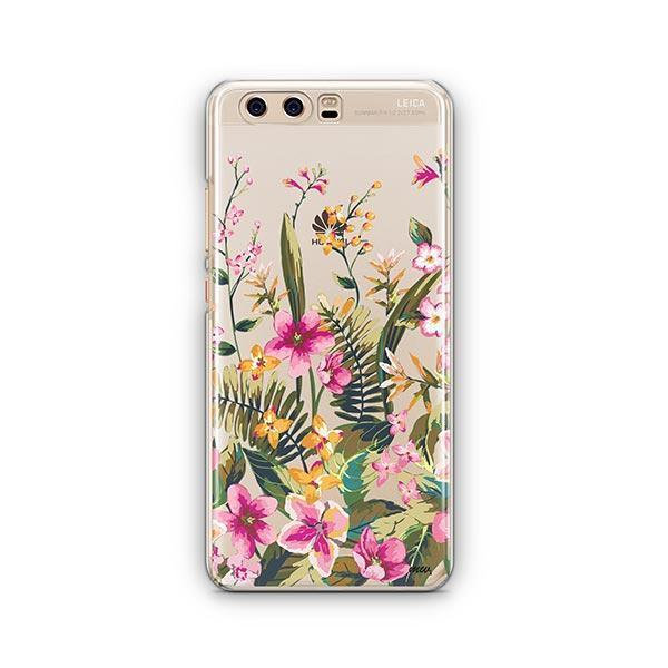 Growing Garden Huawei P10 Case Clear
