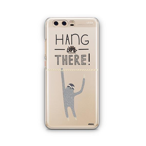 Hanging Sloth Huawei P10 Case Clear