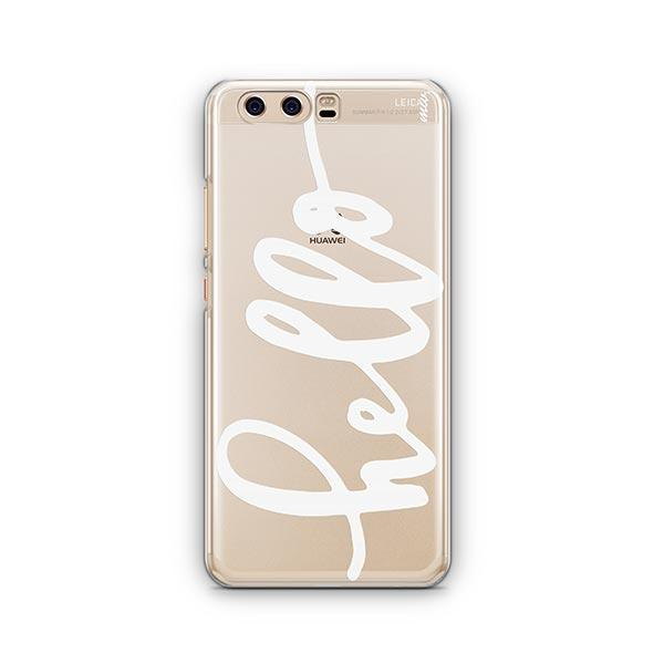 Hello Huawei P10 Case Clear