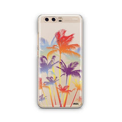 Hipster Palm Tree Huawei P10 Case Clear