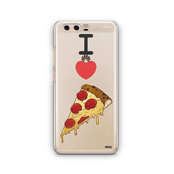 I Love Pizza Huawei P10 Case Clear