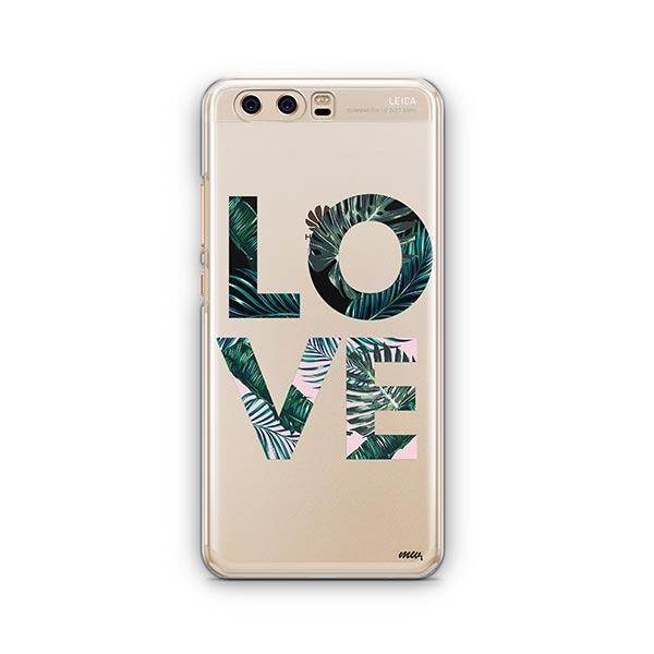 Palm Tree Love Huawei P10 Case Clear