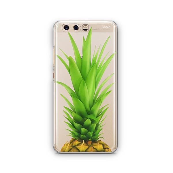 Pineapple Head Huawei P10 Case Clear