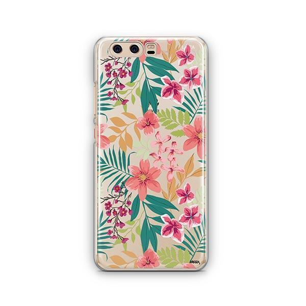 Summer Blossom Huawei P10 Case Clear