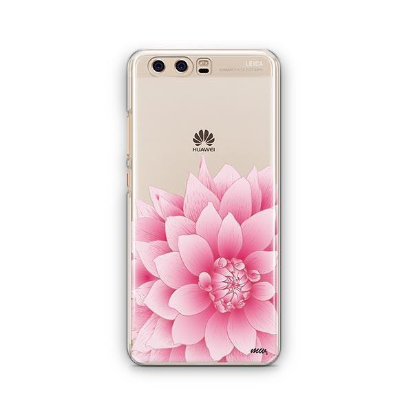 The Dahlia Huawei P10 Case Clear