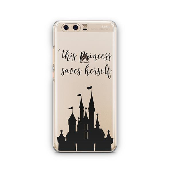 The Princess Saves Herself Huawei P10 Case Clear