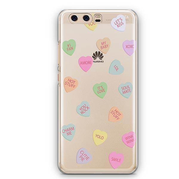 Valentines Candy Huawei P10 Case Clear