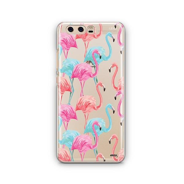 Watercolor Flamingo - Huawei P10 Case Clear