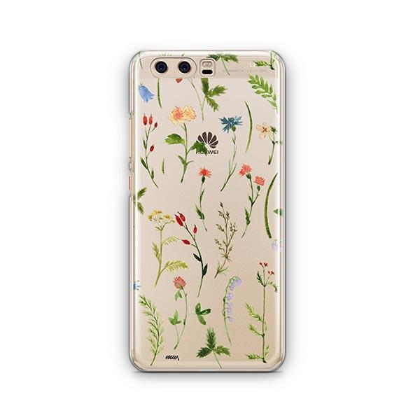 Wildflower Huawei P10 Case Clear