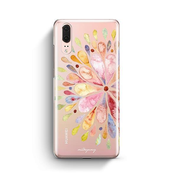 Blissful Mandala Huawei P20 Case Clear