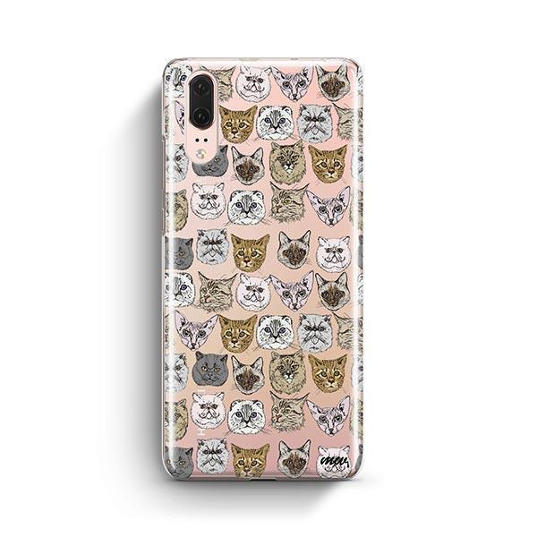 Cat Overload 2 - Huawei P20 Clear Case