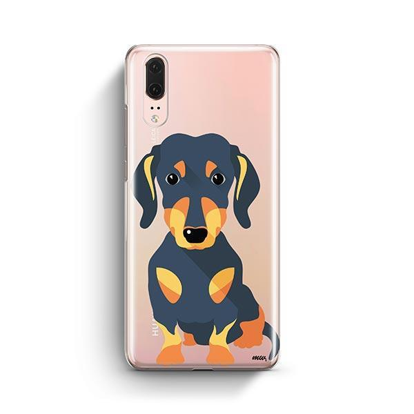 Doxie - Huawei P20 Clear Case