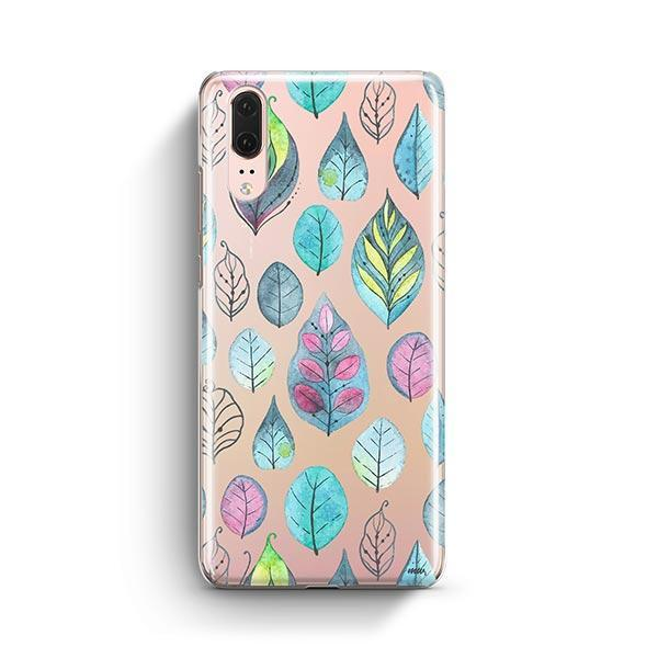 Leaves Huawei P20 Case Clear