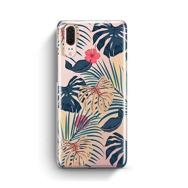 New Day Monstera Huawei P20 Case Clear