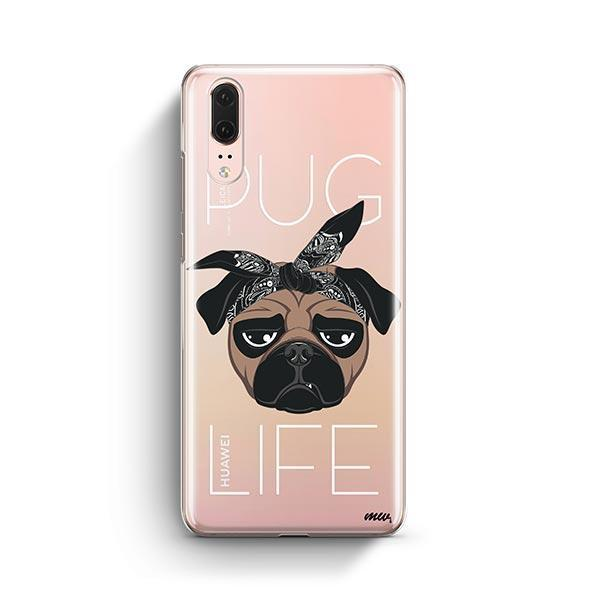 Pug Life - Huawei P20 Clear Case