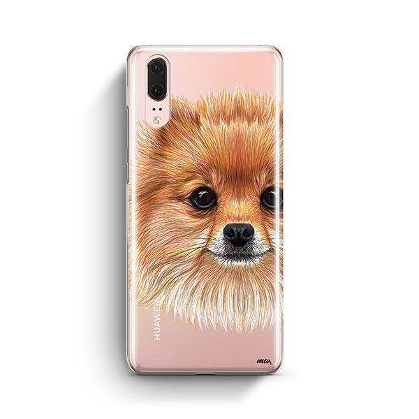 Pomsky Puppy - Huawei P20 Clear Case