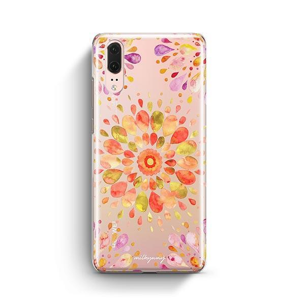 Summer Mandala Huawei P20 Case Clear