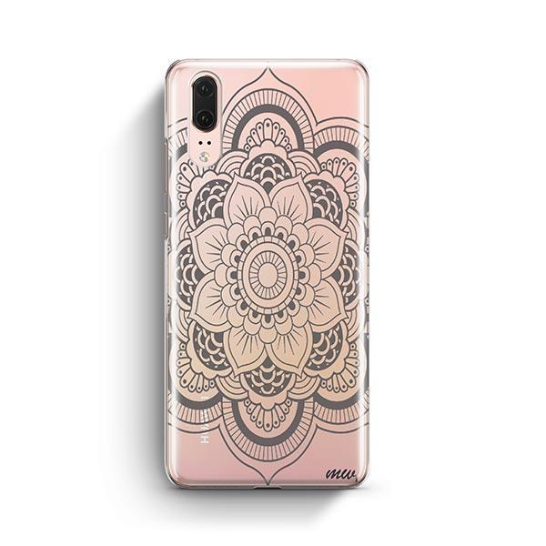 Henna Full Mandala Huawei P20 Case Clear