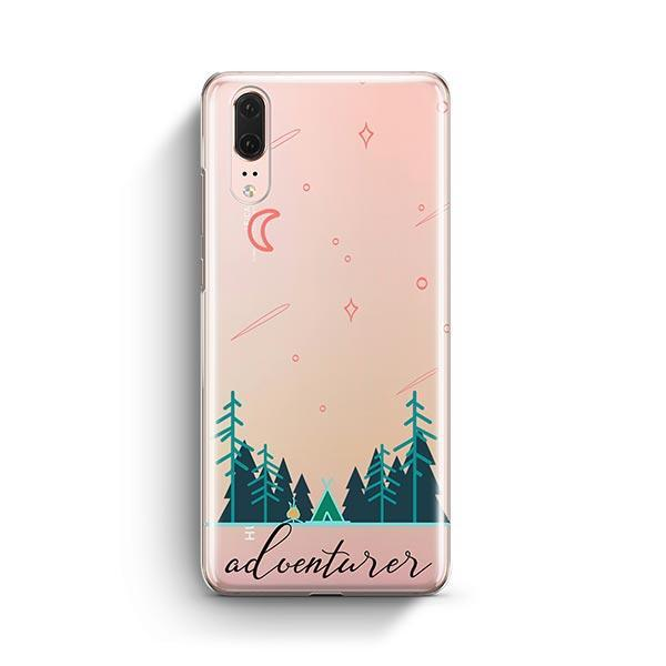 Adventurer Huawei P20 Case Clear