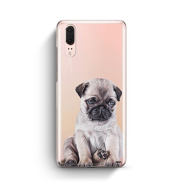 Baby Pug - Huawei P20 Clear Case