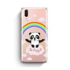 Be Happy Huawei P20 Case Clear