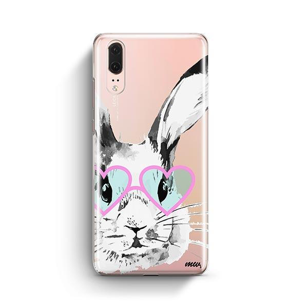 Beverly Hills Bunny - Huawei P20 Case Clear