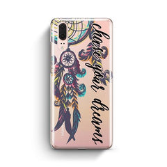 Chase Your Dreams Huawei P20 Case Clear