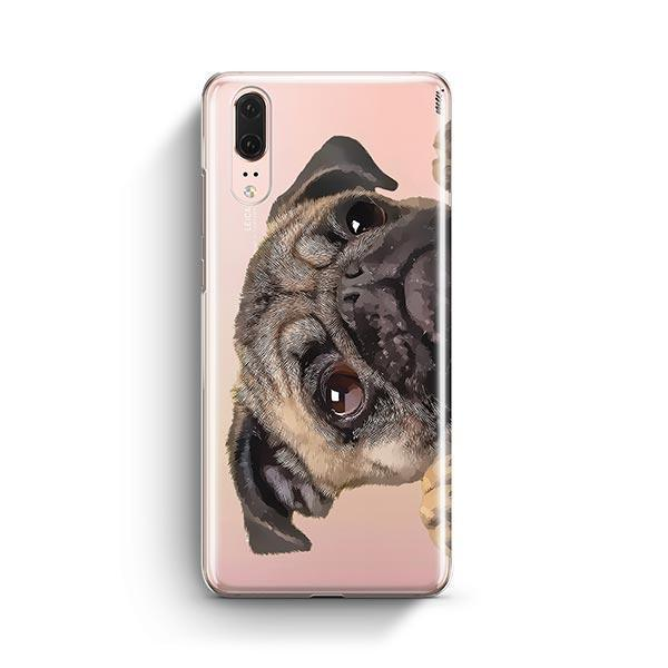 Cry Baby Pug - Huawei P20 Clear Case