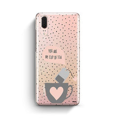 Cup of Tea Huawei P20 Case Clear