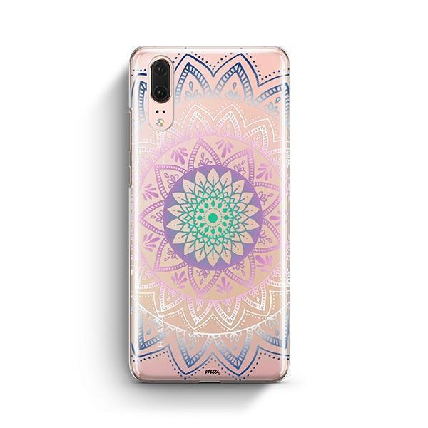 Dark Pastel Huawei P20 Case Clear