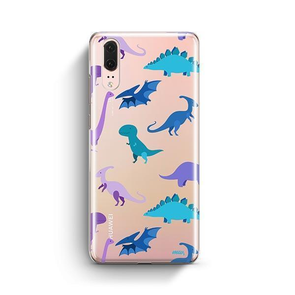 Dino Time Huawei P20 Case Clear