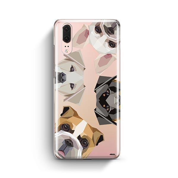 Dogs with Attitude - Huawei P20 Clear Case