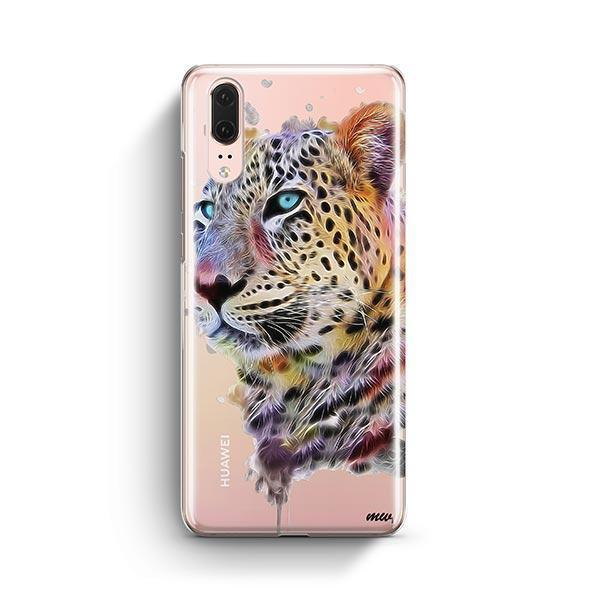 Dripping Leopard - Huawei P20 Case Clear
