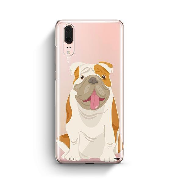 English Bulldog - Huawei P20 Clear Case