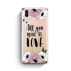 All You Need is Love Huawei P20 Case Clear