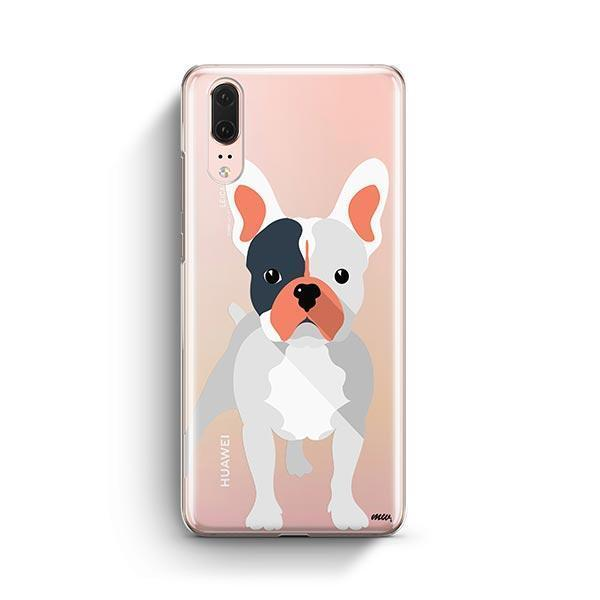 French Bulldog - Huawei P20 Clear Case