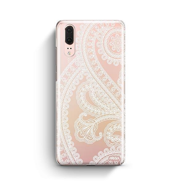 Henna Full Paisley Huawei P20 Case Clear