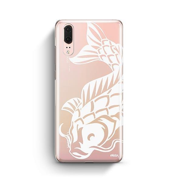Henna Koi Fish - Huawei P20 Case Clear