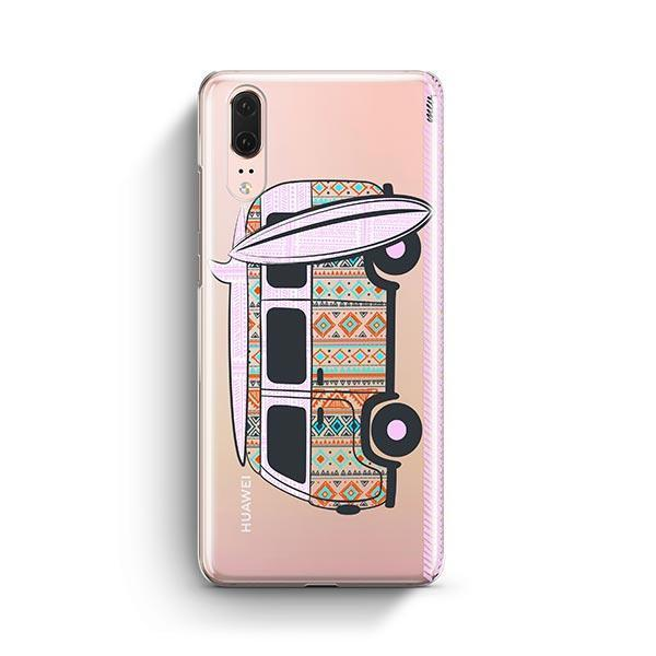 Hipster Van Huawei P20 Case Clear