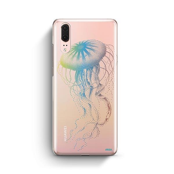Jelly Fish - Huawei P20 Case Clear