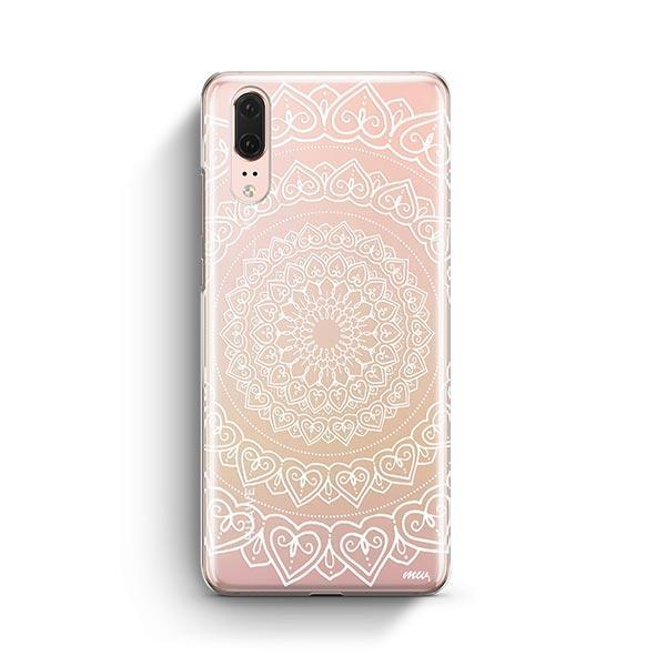 Mandala Hearts Huawei P20 Case Clear