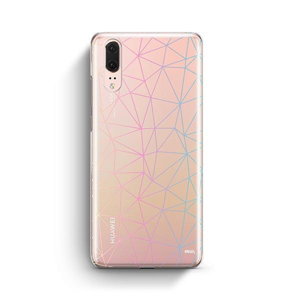 Ombre Geo Huawei P20 Case Clear