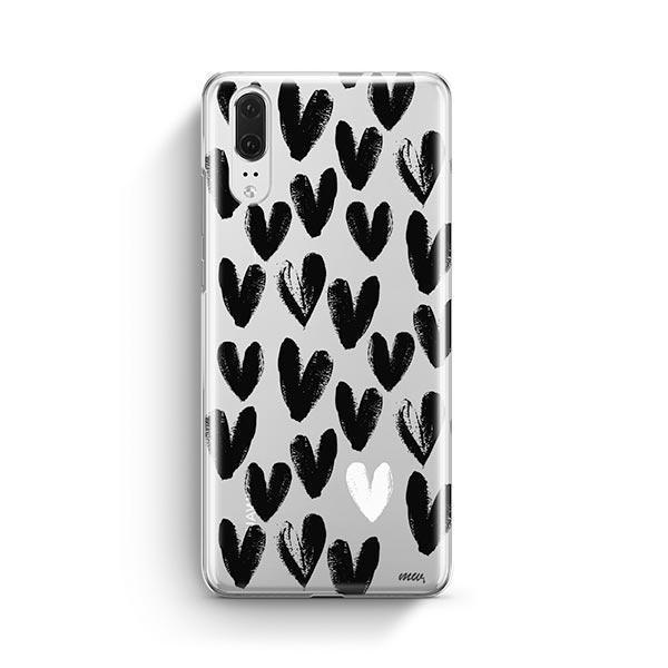 One Love Huawei P20 Case Clear