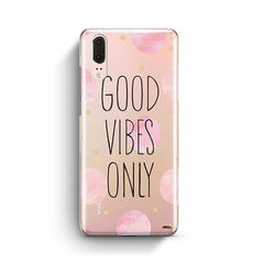 Good Vibes Only Huawei P20 Case Clear