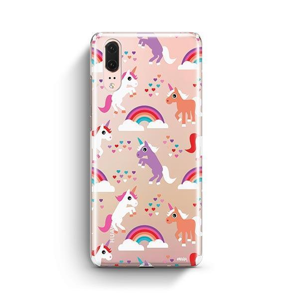 Rainbows and Unicorns Huawei P20 Case Clear