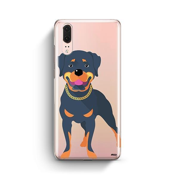 Rottweiler - Huawei P20 Clear Case