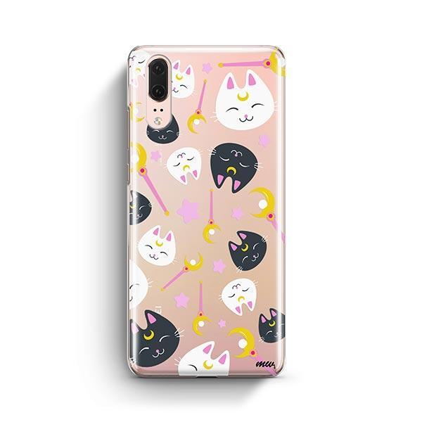 Sailor Kitty - Huawei P20 Clear Case