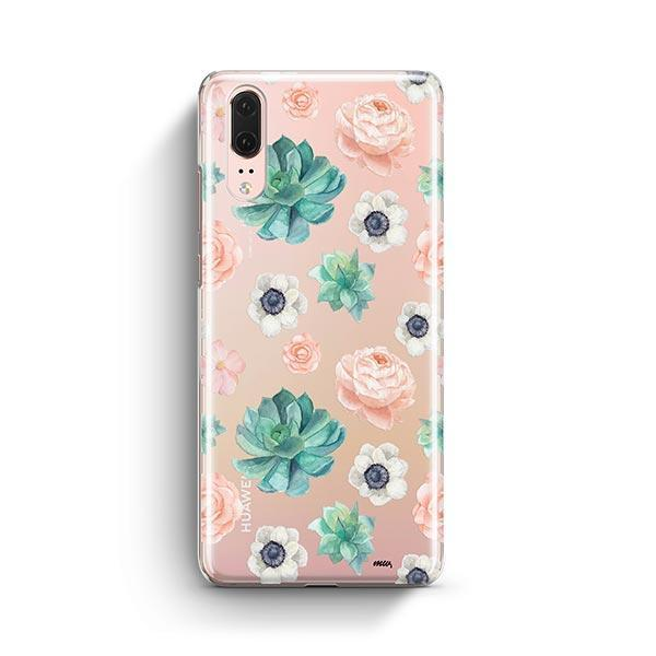 Succulent Overload Huawei P20 Case Clear