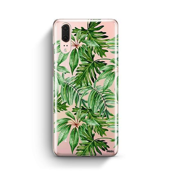 The Tropics Huawei P20 Case Clear