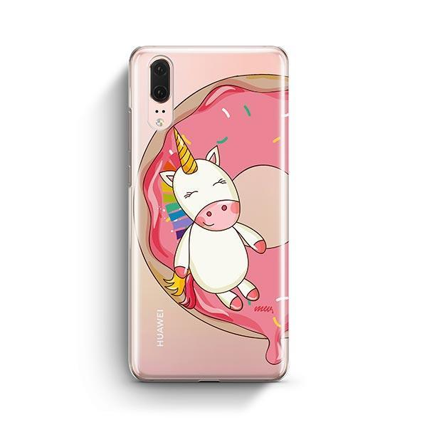 Unicorn Sprinkles Huawei P20 Case Clear